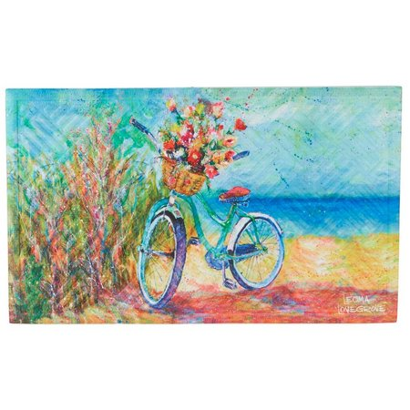 Leoma Lovegrove Beachin Ride Outdoor Mat