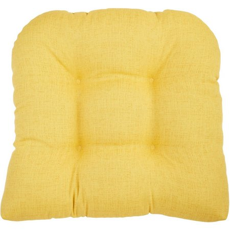 Brentwood Topical Linen Biscotti Seat Cushion