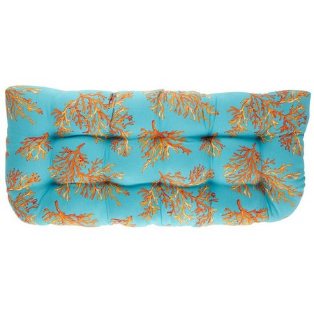 Brentwood Surin Coral Double Chair Cushion
