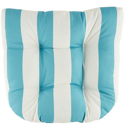 Brentwood Striped Chair Cushion