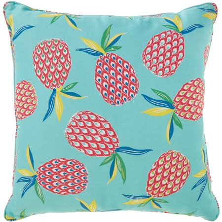 Brentwood Pineapple Toss Outdoor Decorative Pillow