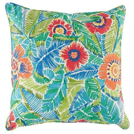 Brentwood Jamaica Square Outdoor Pillow