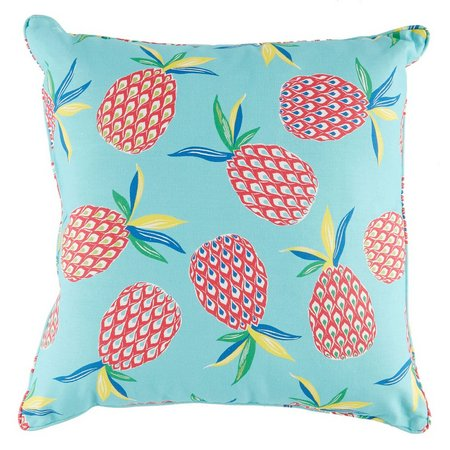 Brentwood Pineapple Toss Outdoor Pillow