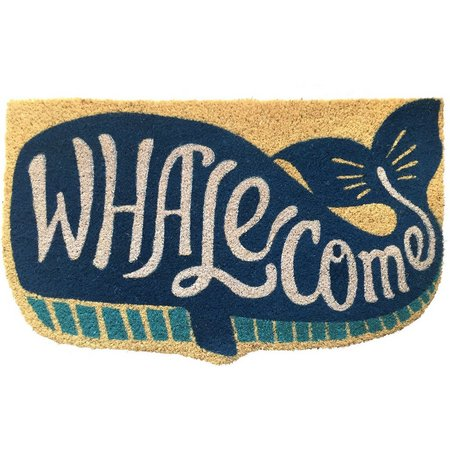 Tropix Whalecome Coir Mat