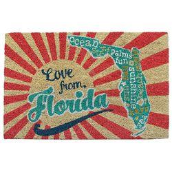 Tropix Love From Florida Coir Mat