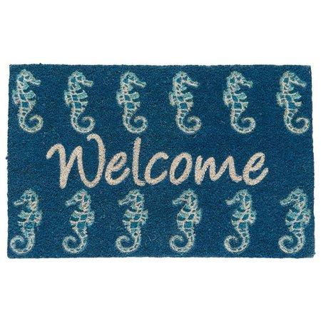 Tropix Seahorse Welcome Coir Mat