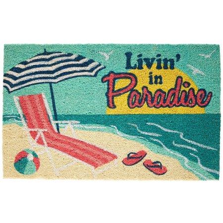Tropix Livin' In Paradise Coir Mat
