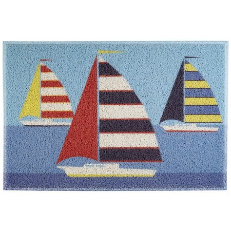 FL4 MATS Sailboats Outdoor Mat