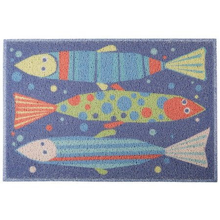 FL4 MATS Tropical Fish Outdoor Mat