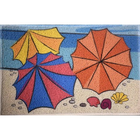 FL4 MATS Beach Umbrella Outdoor Mat