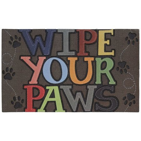 Mohawk Wipe Your Paws Rubber Mat