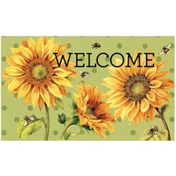 Mohawk Sunny Bees Welcome Mat