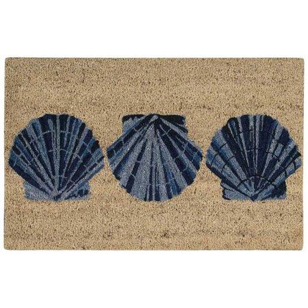 Nourison Trio Shells Coir Mat