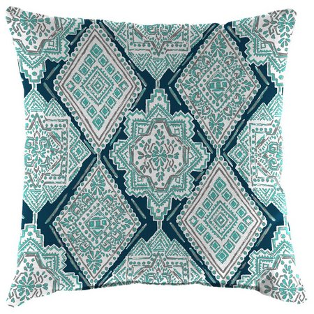 Jordan Manufacturing Milan Ocean Outdoor Pillow