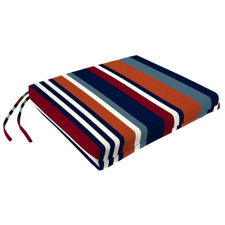 Jordan Manufacturing 19'' x 18'' Striped Seat Pad