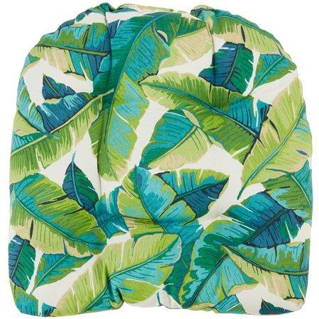Coastal Home Balmoral Opal Palm Leaf Chair Cushion