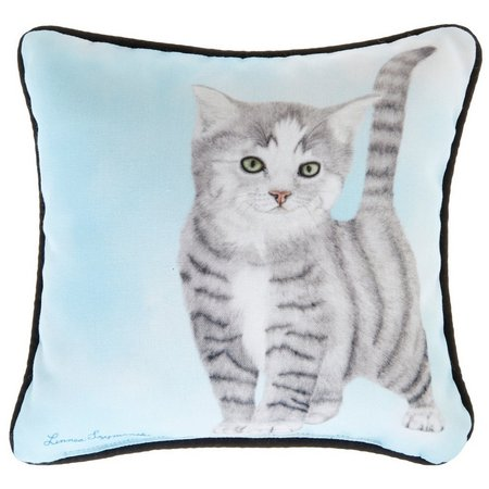 Linnea Szymanski Tiger Decorative Pillow