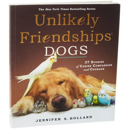 Workman Publishing Unlikely Friendships Dogs Book