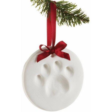 Paws Paw Print Ornament