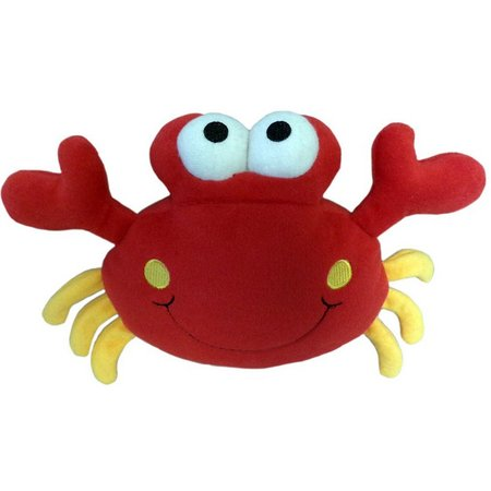 Lulubelle's Crabby Patty Dog Chew Toy