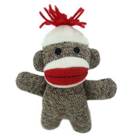 Lulubelle's Kiki Sock Monkey Pet Toy
