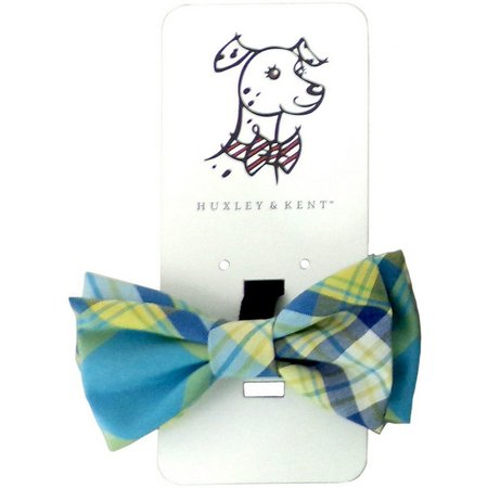 Huxley & Kent Turquoise Madras Bow Tie Accessory
