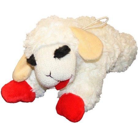 Multipet 10'' Lamb Chop Pet Toy