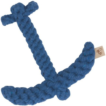 Jax & Bones Blue Anchor Pet Toy