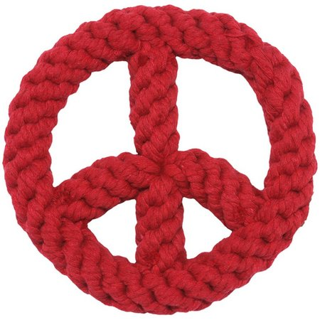Jax & Bones Peace Sign Pet Toy