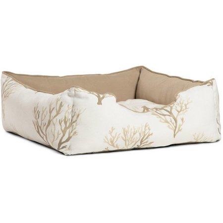Urban Paw Coral Regtangular Cuddler Pet Bed