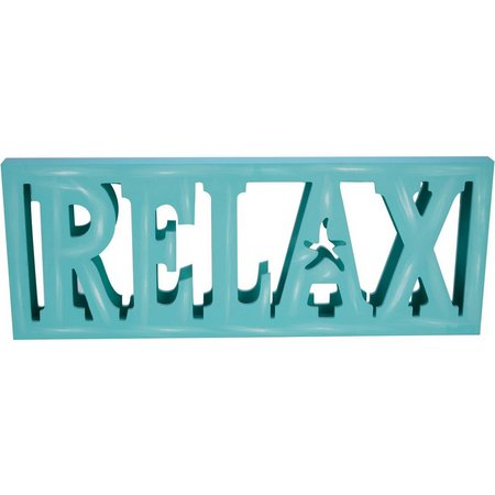 Beach Combers Relax Mirror Back Plaque