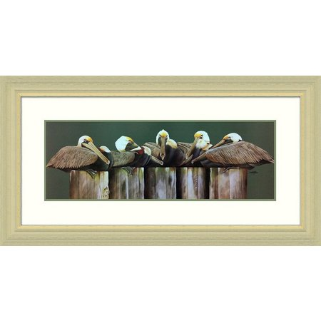 Palm Island Home Dockmasters Framed Art