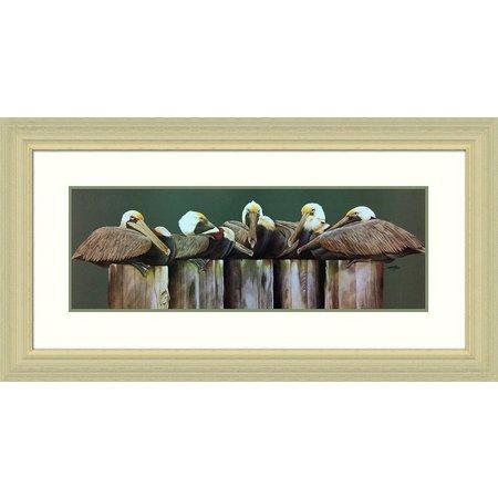 Palm Island Home Dockmasters Framed Art