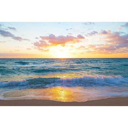 Coastal Home Florida Sunset Canvas Wall Art