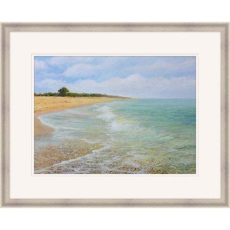 Coastal Home Quiet Coast Framed Art