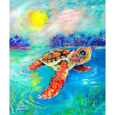 Leoma Lovegrove Maiden Voyage Canvas Art