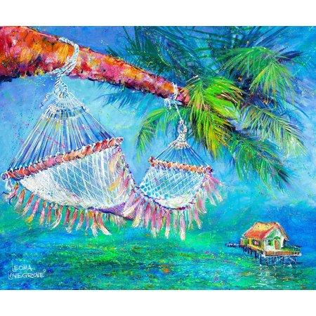 Leoma Lovegrove Take Five Canvas Art
