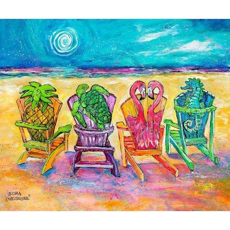 Leoma Lovegrove Front Row Seats Canvas Art