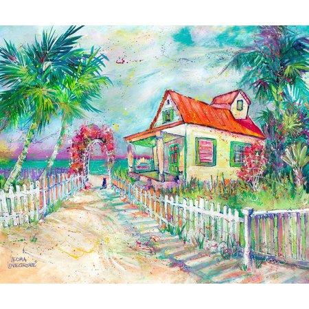 Leoma Lovegrove Our House Canvas Art