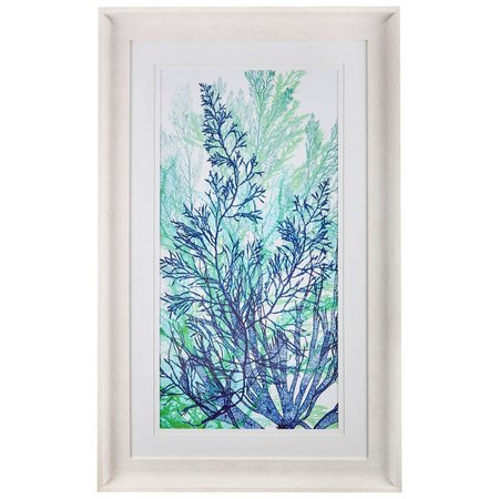 Palm Island Home Coral Medley I Framed Wall
