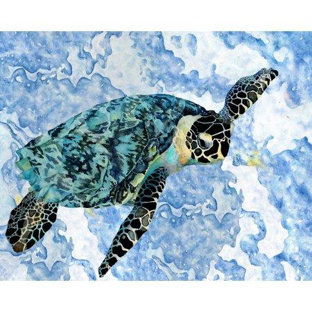 Palm Island Home Ocean Fun Sea Turtle Wall