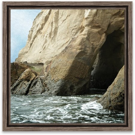 Artissimo Big Sur Framed Wall Art