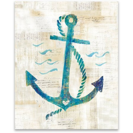 Artissimo On The Waves IV Canvas Wall Art