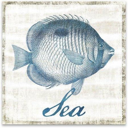 Artissimo Sea Fish Canvas Wall Art