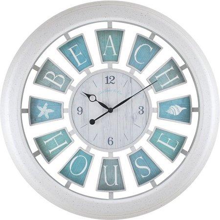 FirsTime 23'' Beach House Clock