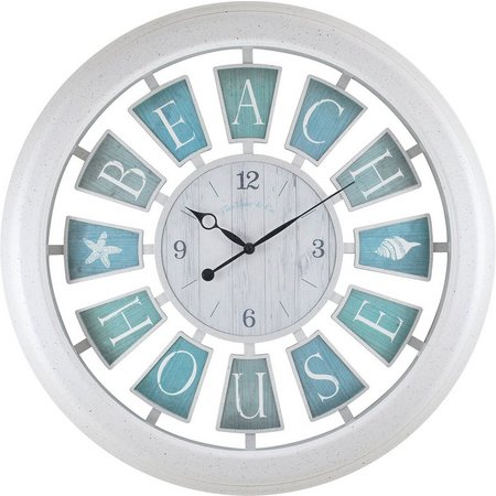 FirsTime 23'' Beach House Clock