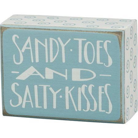 Primitives By Kathy Sandy Toes Salty Kiss Box