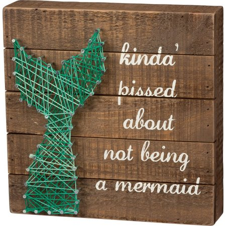 Primitives By Kathy Not A Mermaid String Art