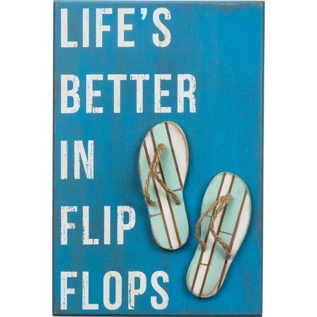 Primitives By Kathy Better In Flip Flops Wall