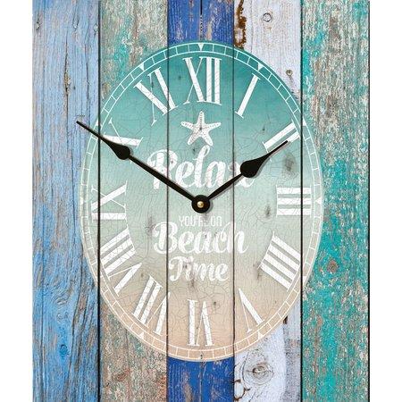 P. Graham Dunn Relax Wall Clock